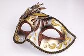 Venetian mask on a white background — Stock Photo