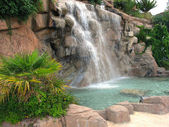Waterfall in Alanya — Stock Photo
