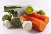 Popular vegetables — Stock Photo