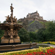 Edinburgh castle, Scotland — Stock Photo