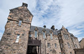 Castle of Edinburgh in Scotland UK — Стоковое фото
