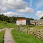 Farmhouse , Scotland UK — Stock Photo