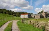 çiftlik evi, i̇skoçya i̇ngiltere — Stok fotoğraf