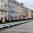 Classic Buildings, Karlovy Vary  Czech — Stock Photo