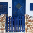 Greek traditional house — Stock Photo
