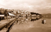 Kastoria City in Greece — Stock Photo