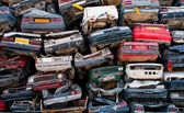 Scrap cars for recycling — Stock Photo