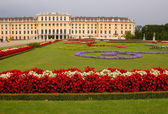 Schonbrunn Palace in Vienna, Austria — Stock Photo