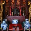 Foto Stock: Interior of Buddhism temple