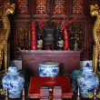 Foto de Stock  : Interior of Buddhism temple