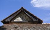 Church rooftop, Cyprus — Stock Photo