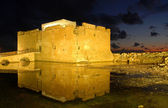 Paphos Medieval Castle — Stock Photo