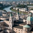 Cityscape of Salzburg Austria — Stock Photo