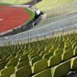 Stadium seats in row — Stock Photo #8651371
