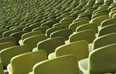 Stadium seats in a row — Foto de Stock