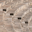 Steps form Kourion amphitheater - Stock Photo