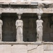 Stock Photo: Caryatids at Athens Acropolis Hill