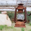 Vintage oil lamp — Stock Photo