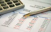 Financial statement — Stock Photo