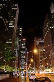 Manhattan lights — Stock Photo