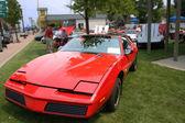 Czerwoną corvette — Zdjęcie stockowe