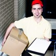 Stock Photo: Confirm your delivery