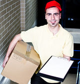 Confirm your delivery — Stockfoto
