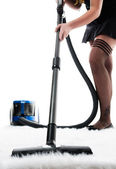 Carpet cleaning — Stock Photo