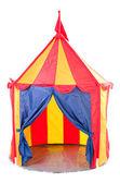 Children circus tent — Stock Photo