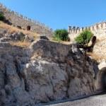 Alanya Castle Walls, Turkey — Stock Photo