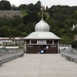 TeRooms on Bangor pier, North Wales — Stock Photo #10590114