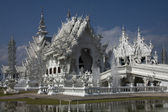 Fairytale Castle (Wat Rong Khun), Chiang Rai, Thailand — Stock Photo
