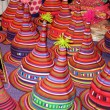 Foto de Stock  : Hill Tribe Hats