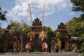 Balinese Temple, Denpasar, Bali — Stock Photo