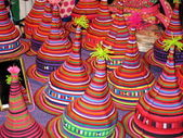 Chapéus de tribo de colina — Foto Stock
