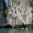 Canoeing, Koh Hong, Phang Nga Bay — Stock Photo
