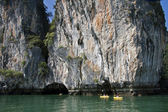 Canoeing, Koh Hong, Phang Nga Bay — Stock Photo
