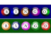 Bingo Balls — Stock Photo