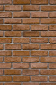 Vertica Brick wall — Stock Photo