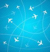 Planes background — Vector de stock