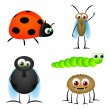 Insect Cartoons - Stock Vector