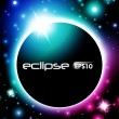 Stock Vector: Eclipse