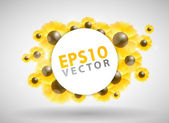Sunflower Design — Stock Vector