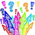 Colorful arrows design — Stock Vector #9356391