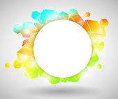 Colorful Cube Design — Stock Vector