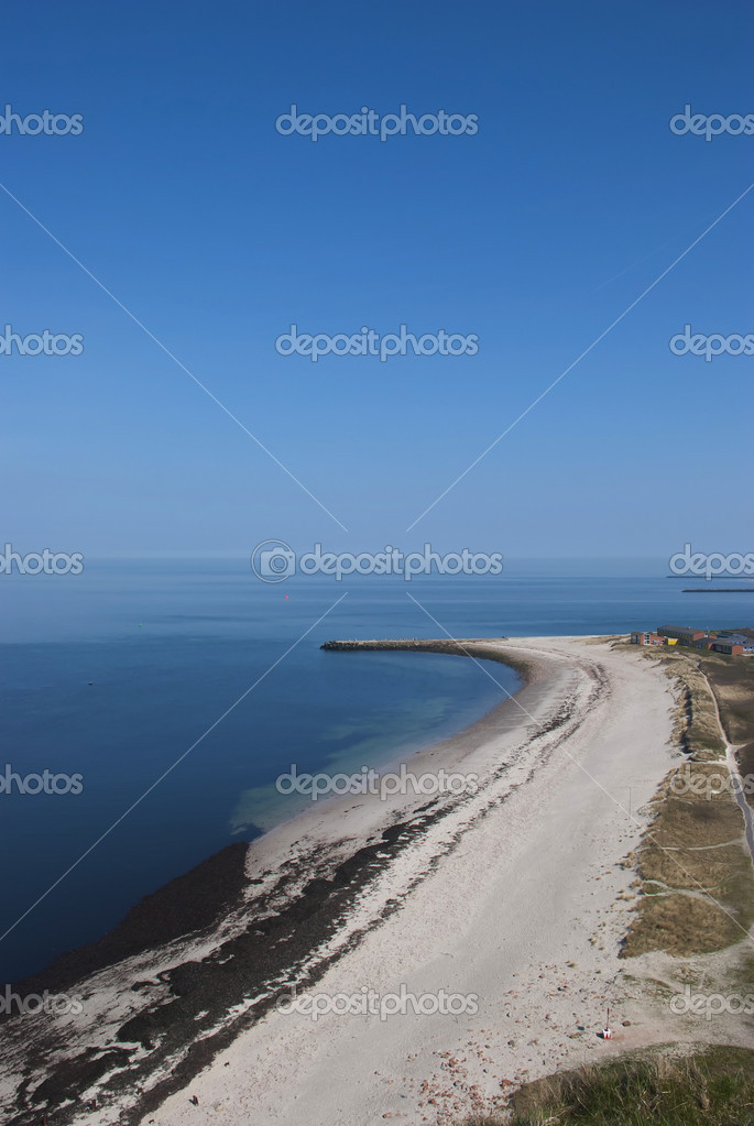 The north beach of Helgoland — Stock Photo #8311158