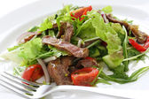 Beef salad — Stock Photo