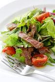 Beef salad — Stock Photo