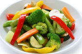 Stir fried vegetables — Stock Photo