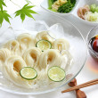 Somen, japanese summer food — Stock Photo